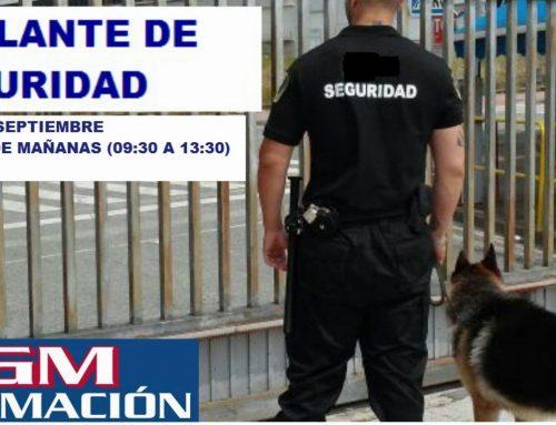 ¡CURSO VIGILANTE DE SEGURIDAD!